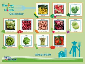 F2S Harvest of the Month Calendar 15-16