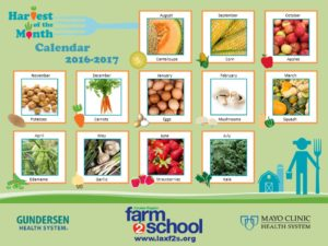 F2S Harvest of the Month Calendar 16-17
