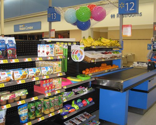 Foot Steps to Health – Healthy Checkout Aisles