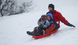 Physical-activity-sledding