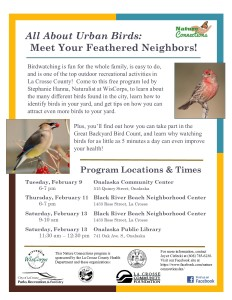 Nature Connections program on birdwatching.